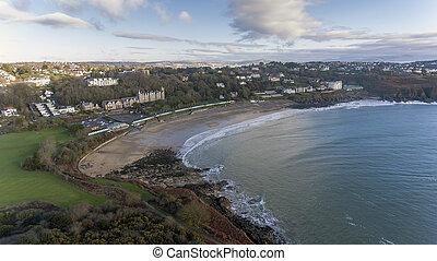 Langland Bay in Swansea