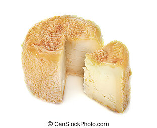 Langres cheese in studio