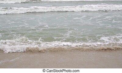 langsam, Bewegung, schlechte,  video, meer, Wellen, Wetter