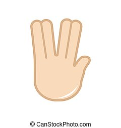 language., χέρι , μικροβιοφορέας , icon., σήμα , χειρονομία
