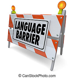 Language Barrier Translation Interpret Message Meaning Words
