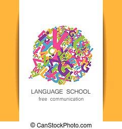 language school free communication