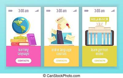 Language Training Center Banners - Language training center...