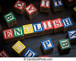 langue, anglaise