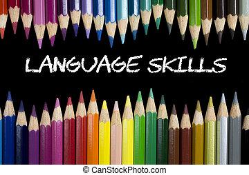 langue, techniques
