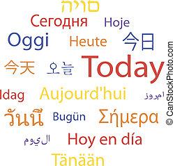 langues, aujourd'hui