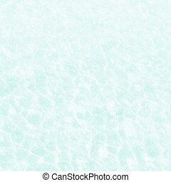 langzaam verdwenen, groen water, rimpeling, zee, golven