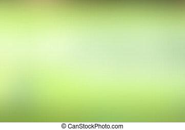 langzaam verdwenen, groene, helling, abstract, achtergrond