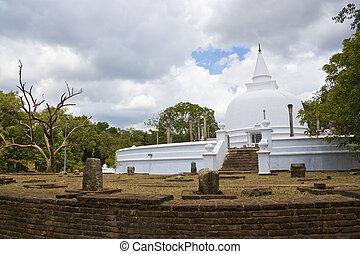 Lankaramaya, Anuradhapura, Sri Lanka - Image of UNESCO's...