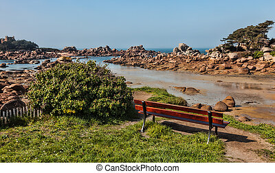 Lanscape in Brittany