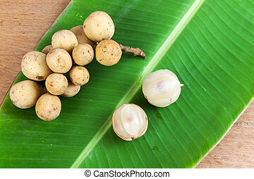 Lansium parasiticum or Longkong fruit