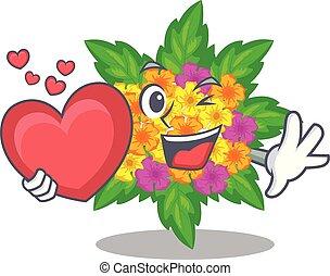 lantana , αγάπη αναπτύσσομαι , λουλούδια , γελοιογραφία