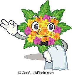 lantana , γκαρσόνι , σχήμα , λουλούδια , γελοιογραφία