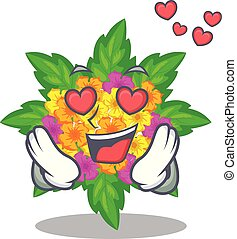 lantana , σχήμα , λουλούδια , αγάπη , γελοιογραφία