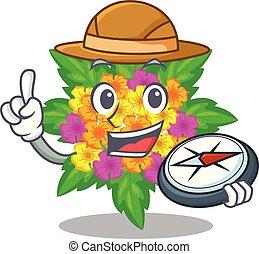 lantana , σχήμα , λουλούδια , εξερευνητής , γελοιογραφία