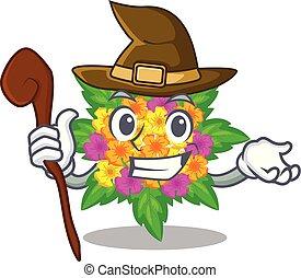 lantana , σχήμα , λουλούδια , μάγισσα , γελοιογραφία