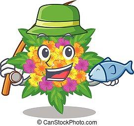 lantana , σχήμα , λουλούδια , ψάρεμα , γελοιογραφία