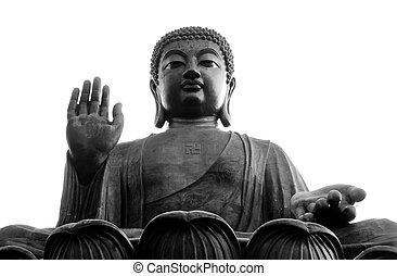 lantau, hong kong, tian bronzent, bouddha