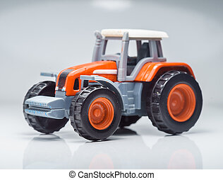 lantbruk, leksak, traktor