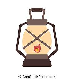 Lantern Flat illustration
