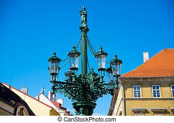 lantern in Prague