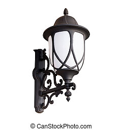 lantern Isolated on white with clipping path