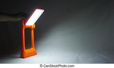 Lantern lamp - Diode bulbs in the lamp, flashing