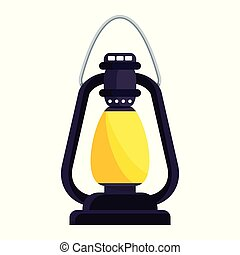 lantern oldfashioned kerosene lamp - Bright old fashioned...