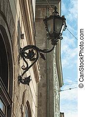 Lantern on the street