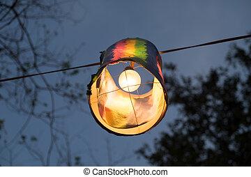 lanterna carta