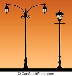 lanternas, retro