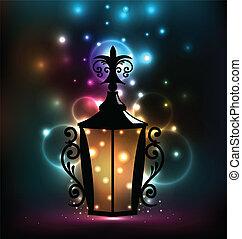 lanterne, forger, ramadan, kareem