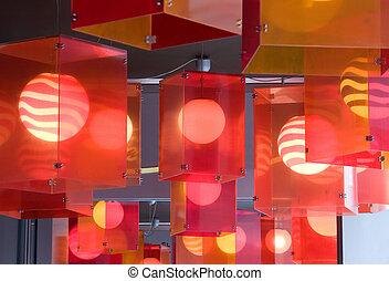 lanternes, rouges