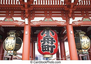 Lanterns at Sensoji Asakusa Temple