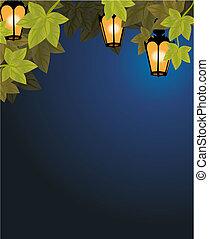 lanterns on th brunch