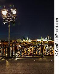 lanterns on the Patriarshy bridge