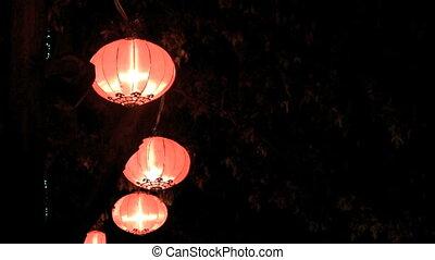 Lanterns - chinese lanterns celebrating chinese new year