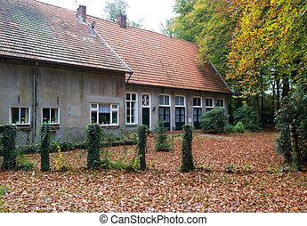 lantgård logera, nederländsk