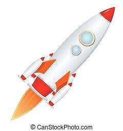 lanzador, cohete
