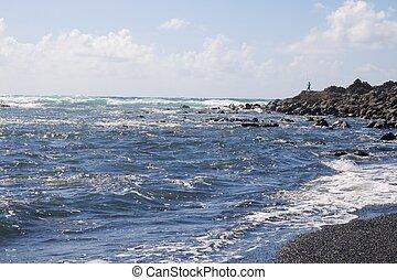 Lanzarote Black Sand Beach