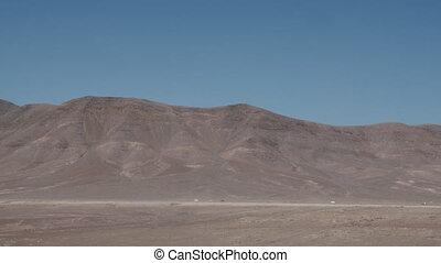 Lanzarote scene with mountains. Arid landscape - Unique ...