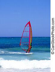 lanzarote, windsurfing