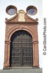 Lanzarote Wooden Door 1