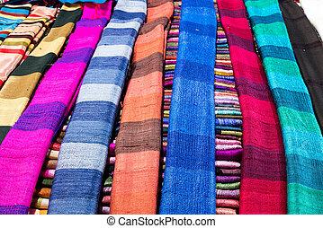 lao, bolaven, handmade, płaskowyż, laos, jedwabny szalik,...
