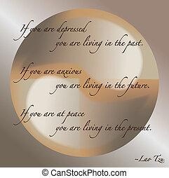 Lao Tzu Quote Vector