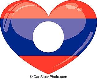 laos, coeur