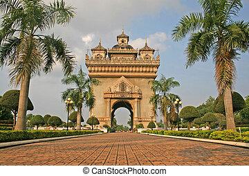 laos, monumento