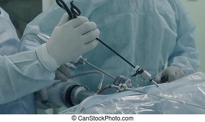 Laparoscopic surgery of the abdomen