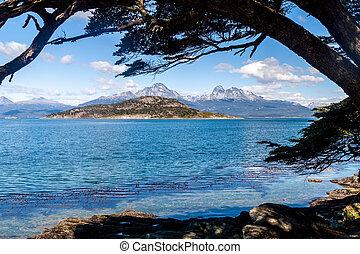 Tierra del Fuego - Lapataia bay in National Park Tierra del ...