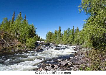 Lapland, Vaesterbotten, Sweden